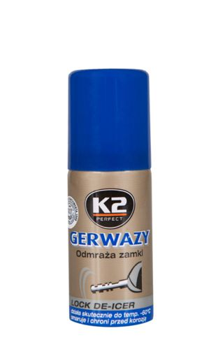 K2 Odmrażacz do zamków Gerwazy 50ml