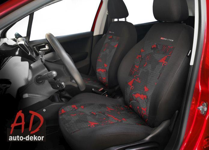Pol Pl Pokrowce Samochodowe Elegance Czerwony