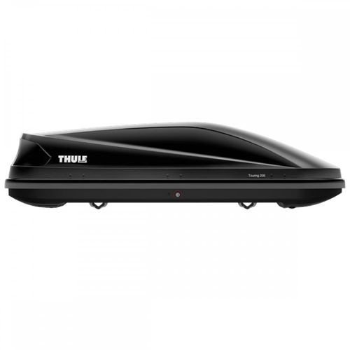 THULE TOURING 200 Black Glossy Box dachowy