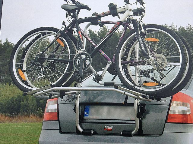 Aguri Advans 3 Bagażnik Rowerowy Na Klapę 3 Bagażniki