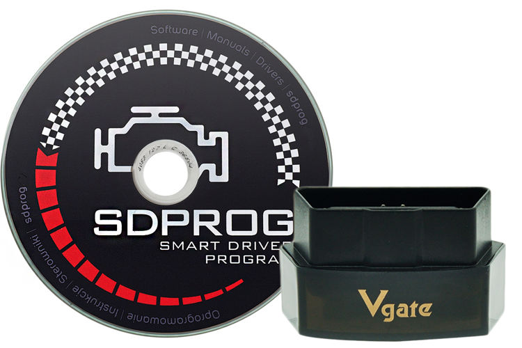 Interfejs diagnostyczny iCar Pro Bluetooth + program SDPROG PL