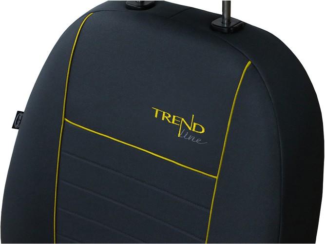 Trend Line Zolte Pokrowce Zolty Pokrowce Samochodowe Pokrowce