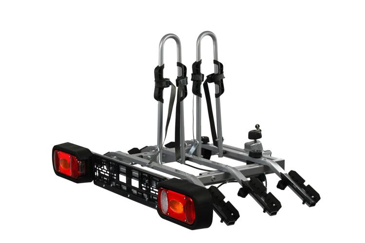 Platforma rowerowa na hak na trzy rowery Amos TYTAN PLUS 3 + tablica świetlna 13-PIN